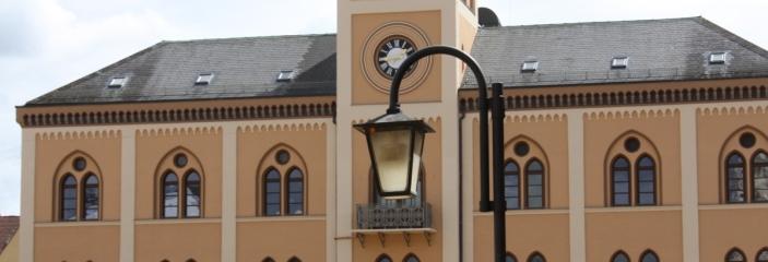 Foto vom Rathaus in Pfaffenhofen