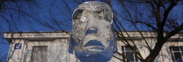 Foto einer Eisskulptur (net_efekt - CC-BY)