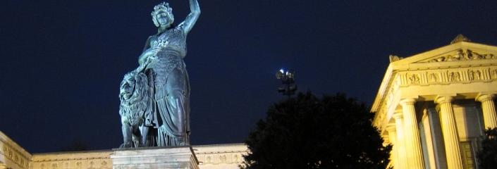 Foto der Bavaria-Statue (Josef Türk Reit - CC-BY-NC-SA)
