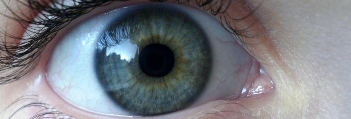 Foto eines Auges (Karen Roe - CC-BY)