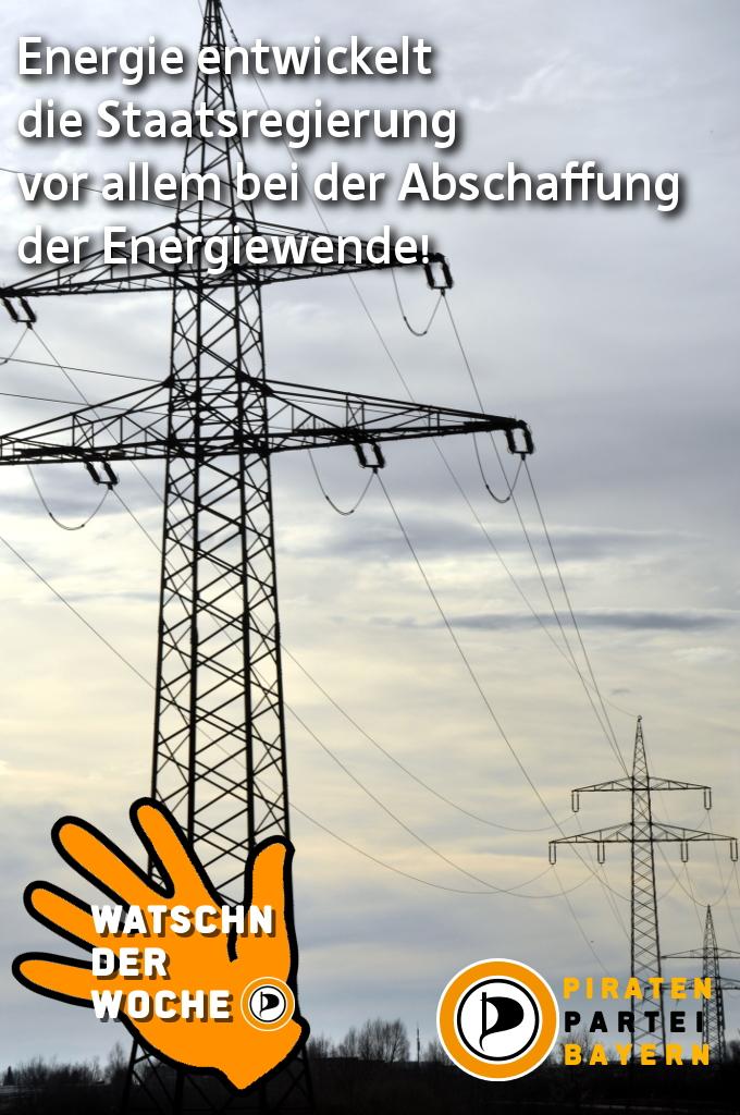 Watschen der Woche: Energiepolitik