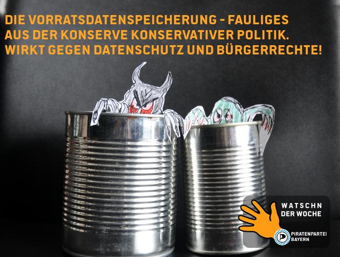 Watsch der Woche: Netztaliban, Lizenz: Piratenpartei Bayern, CC-BY-2.0